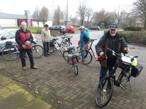 Start zur ersten Radtour in 2016