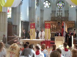 Abschluss in der Pfarrkirche