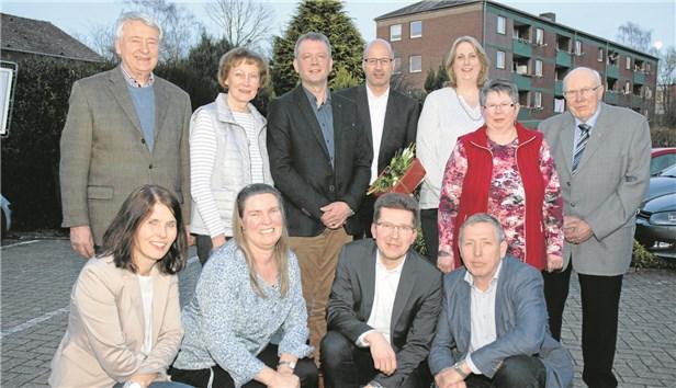 der neue Vorstand der KF Mettingen
