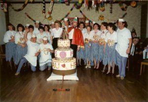 Kolpingkarneval 1990 mit dem Elferrat!